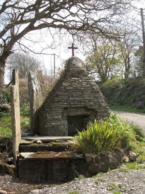 St Piran's Chapel and Well