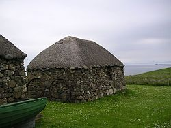 Scottish Highlands Blackhouse