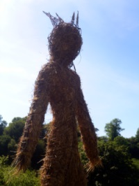 Wickerman effigy, Castell Henllys