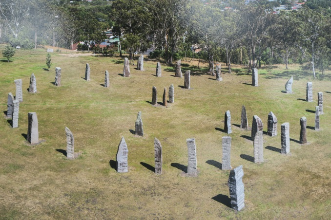 The Australian Standing Stones festival at Glen Innes