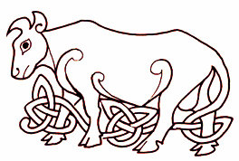 Celtic cow