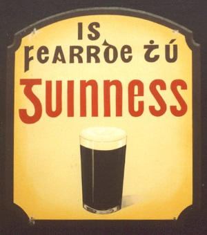 Irish language Guinness advert