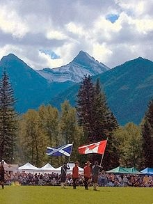Highland Games Canmore Canada
