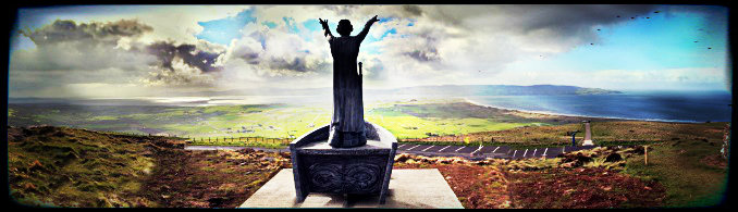 Manannan Sculpture