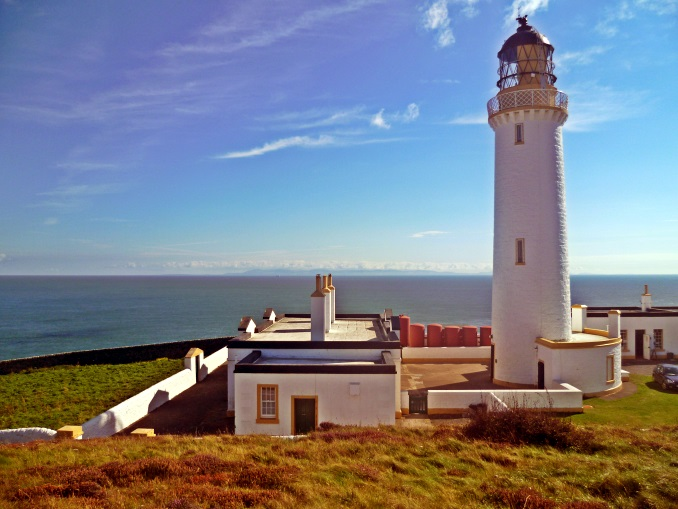 Lighthouse on Mull of Galloway