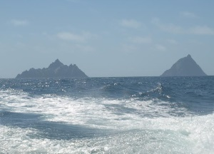 Skellig Islands (Irish: Na Scealaga)
