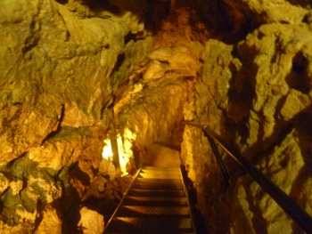 Passage Into Great Orme Ancient Mines