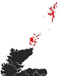 Map of Northern Isles