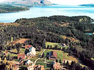 Aerial View Of Cape Breton Gaelic College