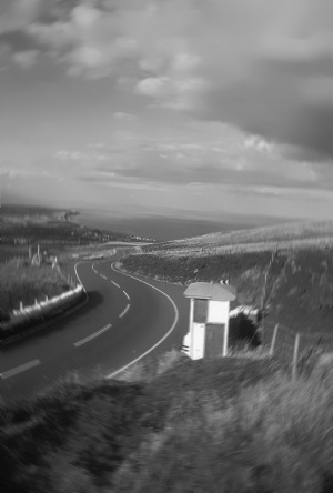 View of TT course Isle of Man