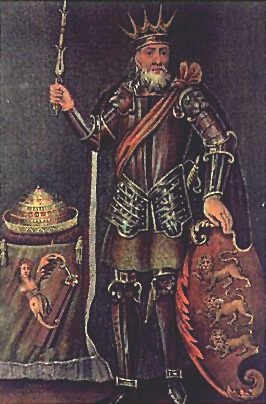 Brian Boru 18th century engraving