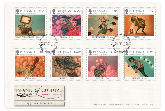 Island of Culture Stamps