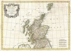 1772 Bonne Map of Scotland