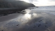 Achill Island beach picture from RTÉ
