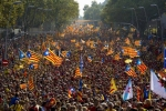 Catalonia rally for independence