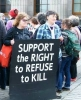 Photo from Edinburgh Conscientious Objectors Day 15TH May 2015.