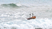 Toy pirate ship Adventure. Image: Aberdeen Evening Express - Credit PA