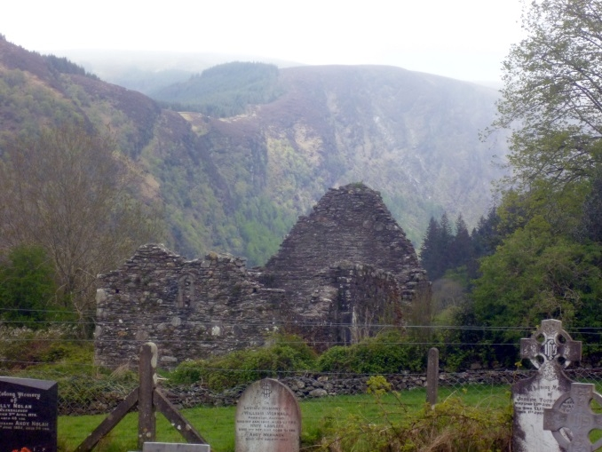 Glendalough Cross and Deer Park