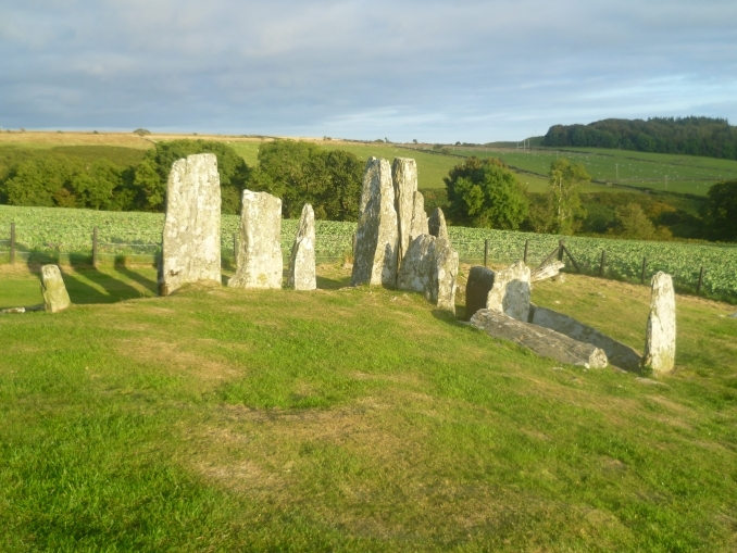 Cairnholy Chambered Tomb 1