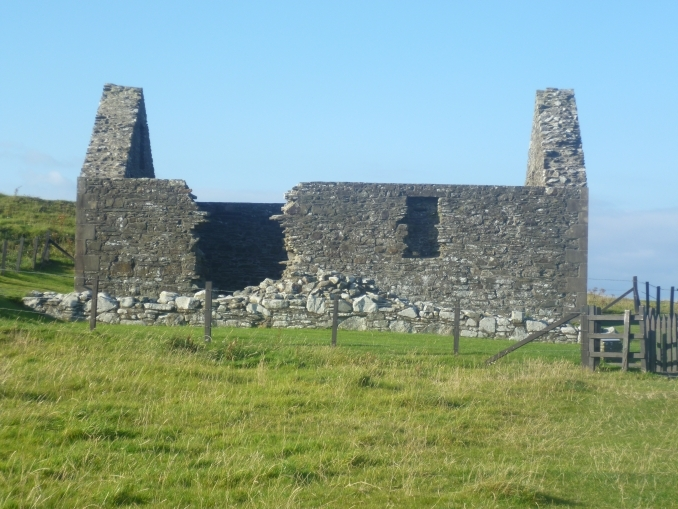 St Ninian's Chapel on Isle of Whithorn