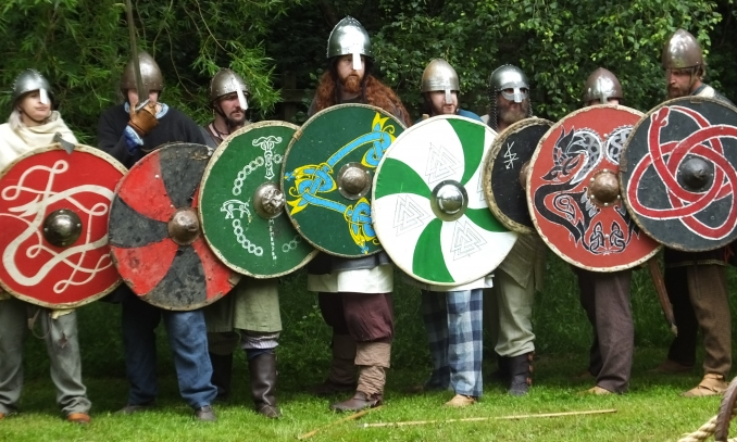 Isle of Man: Vikings of Mann Set Up Camp for Tynwald Day