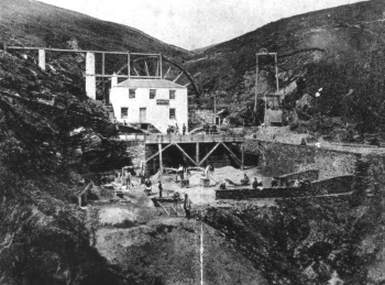 Snaefell Mine in 1870