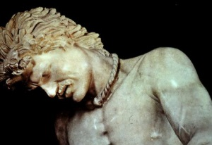 Torc on Dying Gaul sculpture