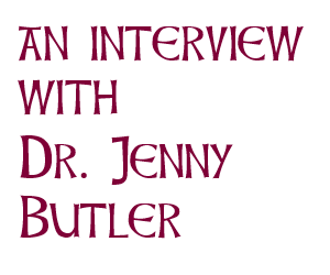 Interview with Dr Jenny Butler