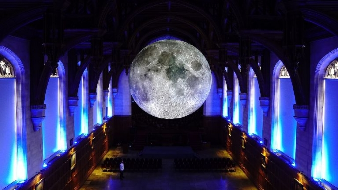 Moon is coming on a visit to Scotland and Wales
