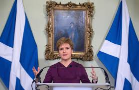 Nicola Sturgeon calls for second referendum