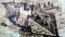 Kindrochit Castle - Caisteal Ceann na Drochaid as it was