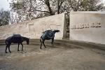 Animals in War Memorial (front)