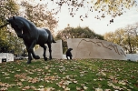 Animals in War Memorial (rear)