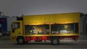 Circus animals in truck.Image: from PETA UK