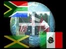 Cornish diaspora world map
