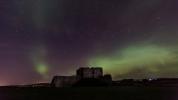 Duffus Castle. Image: BBC Weather Watchers