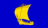 Flag of Tynwald Parliament in Isle of Man