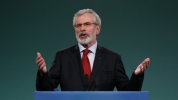 Gerry Adams picture from RTÉ