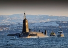 Image RN Ballistic Missile submarine the vessels are enormous and displace the same weight as a WW2 surface cruiser