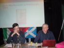 Kerron O' Luain Irish Branch Organiser and Stephen Coyle