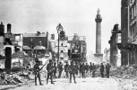 Nelson's pillar when still in place after the 1916 Rising