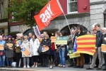Welsh demonstration in support of Catalonia. Image Daily Post