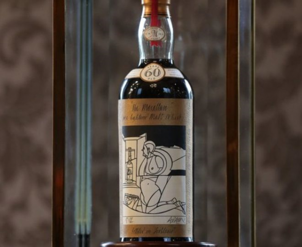 world record paid for bottle of scotch whisky transceltic home